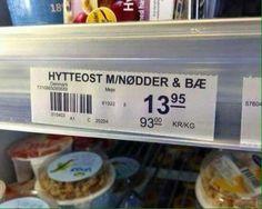 Dansk sjov Funny Food Memes, Food Humor, Bae