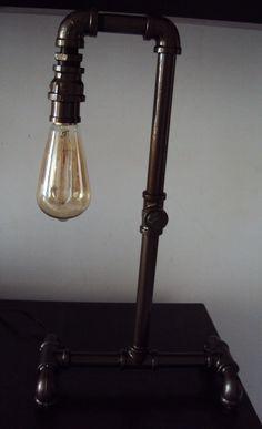 Lamp industrial pipe