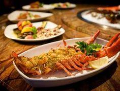 Bay Shrimp Baked Stuffed Maine Lobster