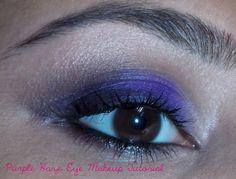The Beauty and the Cheap: Purple Haze Eye Makeup Tutorial