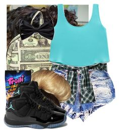 """""""used 2 know"""" by hispeaceprincess ❤ liked on Polyvore featuring O-Mighty, Forever 21 and NIKE"""