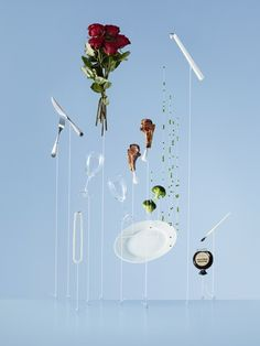 Minimal Levitation Photography by Carl Kleiner