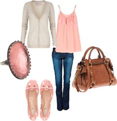 """Pretty in Pink!"" by acren4 on Polyvore"