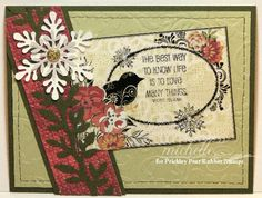 Prickley Pear Rubber Stamps:  Birds and Flourishes Transparency, Cardinal Clearly Beautiful Stamp Set