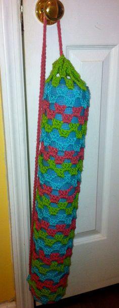 Namaste. <3    Crocheted Yoga Mat Bag made by me!