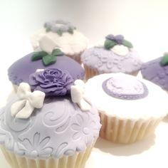 Puckycakes: Cupcakes decorados con Fondant