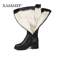 Women Winter Shoes | Genuine Leather Women Winter Boots and Natural Wool Women Shoes | High Quality Knee High Boots  Price: 108.48 & FREE Shipping #computers #shopping #electronics #home #garden #LED #mobiles #rc #security #toys #bargain #coolstuff |#headphones #bluetooth #gifts #xmas #happybirthday #fun
