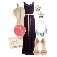 A Real Romantic Dress by modcloth