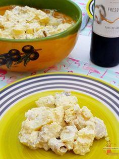 Plat incontournable et authentique du Gard, cette rouille à base de poulpes et de pommes de terre est mélangée avec une aïoli. - Aïoli camarguaise - Lolibox - Recettes de cuisine
