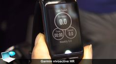 awesome Garmin vivoactive HR