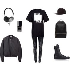 """Black Magic"" by black-blessed on Polyvore"