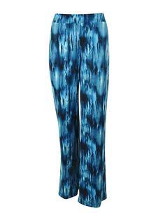 Karen Kane Women's Elastic Waist Wide Leg Jersey Pants