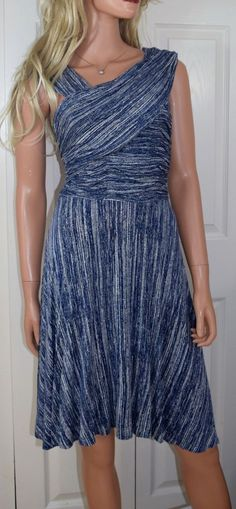 b6df8d9d46a3 PLENTY BY TRACY REESE Dreamy Drape /Speckled Ink Dress Size M | eBay.  Stores Like AnthropologieCleaning ...