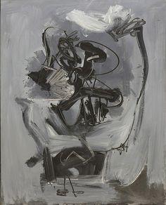 Collection Online | Antonio Saura. Adios. 1959 - Guggenheim Museum