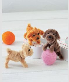 Pipe cleaner pups