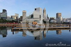 Cleveland s Skyline and Rock and Roll Hall of Fame