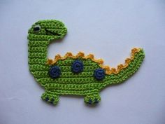 Luty Artes Crochet: Aplicações de crochê