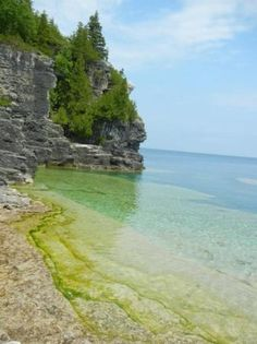 May 2020 - The Grotto, in Bruce Peninsula National Park, is one of the top tourism attractions in Ontario. A shoreline sea cave with the beautiful blue waters, the Grotto is a unique natural wonder and. Sea Cave, Natural Wonders, Ontario, Places Ive Been, Trip Advisor, Tourism, National Parks, Wanderlust, Doors
