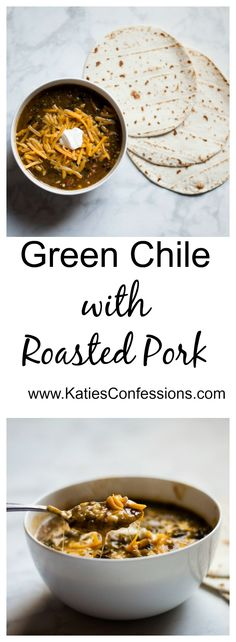 This heart, spicy and creamy dish consists of roasted green chiles, slow roasted pork, tomatoes and a roux to make the ultimate green chile.