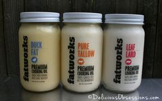 {Giveaway} Fatworks Grass-Fed and Pastured Fat | deliciousobsessions.com He is right!  Fat is where it's at!