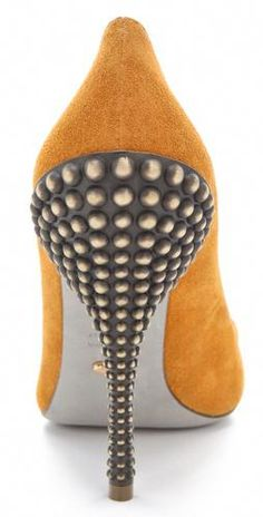 4ac3b29feb Sergio Rossi Byzance Studded Heel Single Sole Pump Sergio Rossi Pumps,  Studded Heels, Stiletto