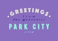 WONDERFUL PARK CITY | Urlaubsgrüße | Echte Postkarten online versenden | MyPostcard.com