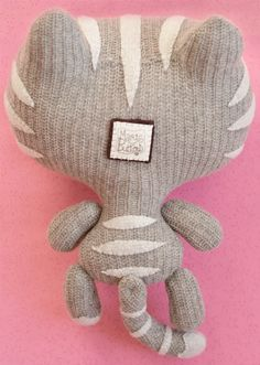 Grey Kitty Kitty by MarieChou on Etsy