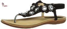 Lunar  JLH600, sandales mode femme - Noir - noir, 36 - Chaussures lunar (*Partner-Link)