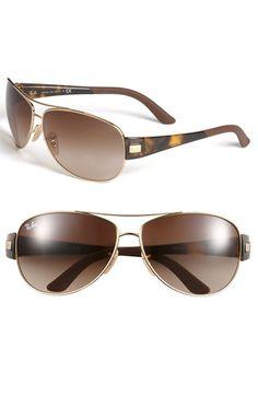 'Morphed' Aviator Sunglasses