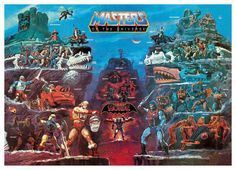 Vintage Masters of the Universe toy catalog 2