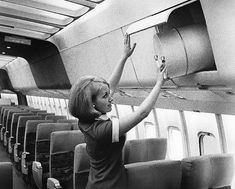 in 1965, that was Serious onboard  baggage! Now they bring the whole  house!