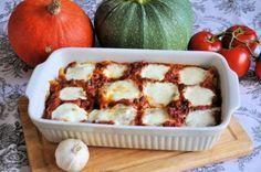 Buffelmozzarella een heerlijke pasta-ovenschotel