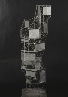 virtualgeometry:  Constant Nieuwenhuys, new babylon : toren, 1959
