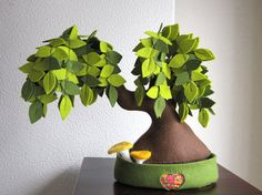 I like her work - I love trees. By intres on Etsy.com