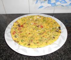 Recept voor Champignon-omelet. Meer originele recepten en bereidingswijze voor groenten vind je op gette.org.