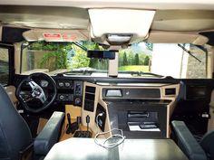 AM General Hummer H1 Stealth! 6.5L Diesel V8. Satin black! American ...