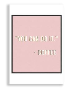 Oliver Gal You Can Do It Art Print   zulily
