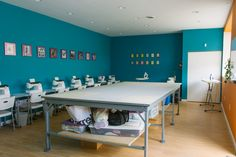 Cut & Sew Studio provides sewing classes in a fun, social environment where students can take classes with others passionate about sewing. Find a class!