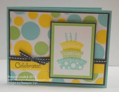 Polka-dot Party by stampinshauna - Cards and Paper Crafts at Splitcoaststampers