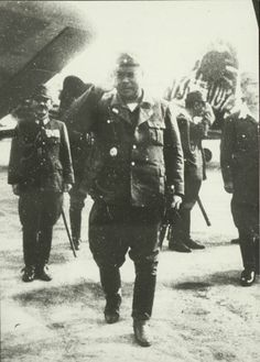 General Yamashita Tomoyuki, Commander of the Japanese Imperial Army. He was nicknamed the Tiger of Malaya because of his swift and decisive conquest of Malaya and Singapore in just 70 days. February 1942. (Text from http://sg.sg/GGYm97)