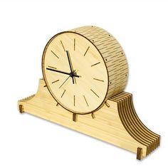 Living Hinge Mantel Clock