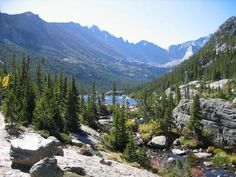 Glacier Gorge Estes Park, CO- voted #2 hiking trail by Trails magazine...time to go back to CO!