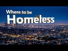 Top 10 best cities to be Homeless in America. Car insurance and sunscreen are im. Cheap Car Insurance, Urban Renewal, Best Cities, Travel Usa, Sunscreen, America, City, Youtube, Top