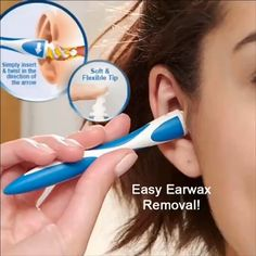 Buy 3 Get 1 Free #Portable Earwax Cleaner Rotating Smart Ear Wax Removal Tools