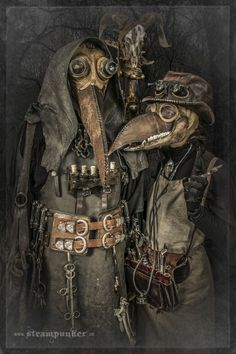 Picture of Steampunk Plague Doctor Costume