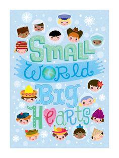 small world/Jill Howarth illustration We Are The World, Small World, Cute Disney, Disney Art, Images Disney, Disney Rooms, Cool Fonts, Cute Illustration, Illustrators