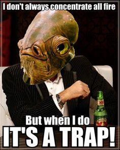 Image result for its a trap meme