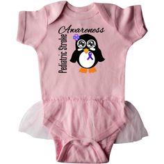 inktastic My Daughter is a Survivor Breast Cancer Awareness Infant Tutu Bodysuit