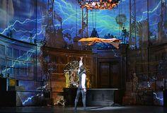 Federico Bonelli (Victor Frankenstein) in Liam Scarlett's Frankenstein. © Dave Morgan, courtesy the Royal Opera House
