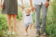 Adorable family photo ideas featuring a family with one child, a cute little boy, in an outdoor setting